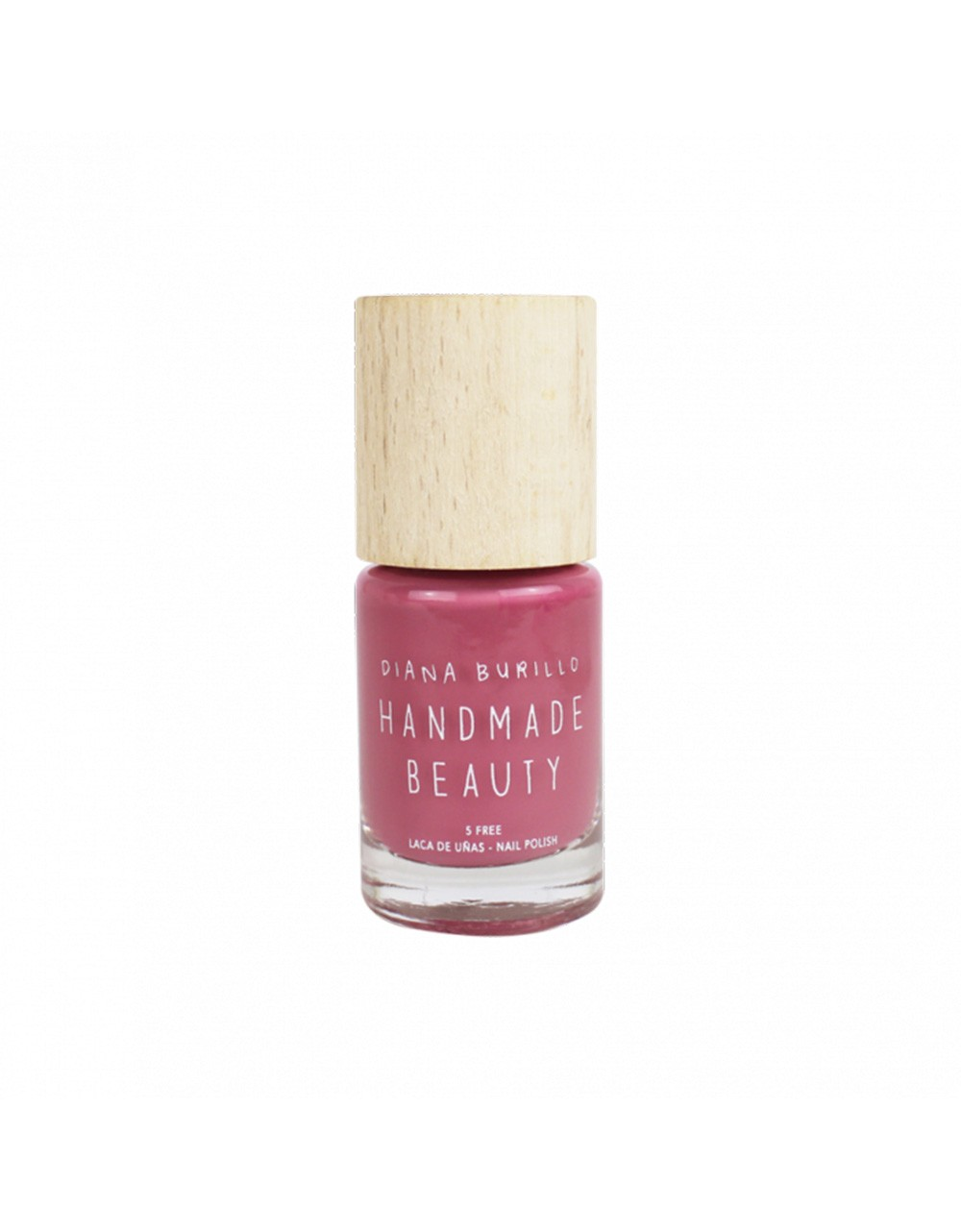 Esmalte de uñas Handmade Beauty 5 free, ecológico color palo de rosa Almond