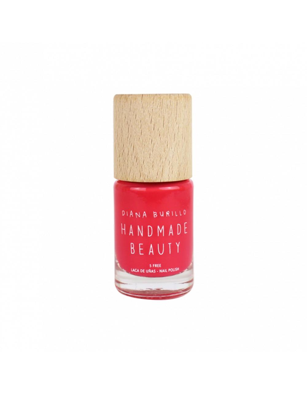 Esmalte de uñas Handmade Beauty 5 free, ecológico color naranja melocotón peach