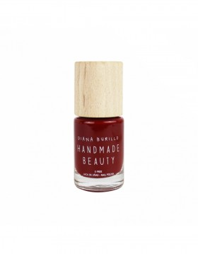 Esmalte de uñas Handmade Beauty 7 free, ecológico Color rojo vivo apple
