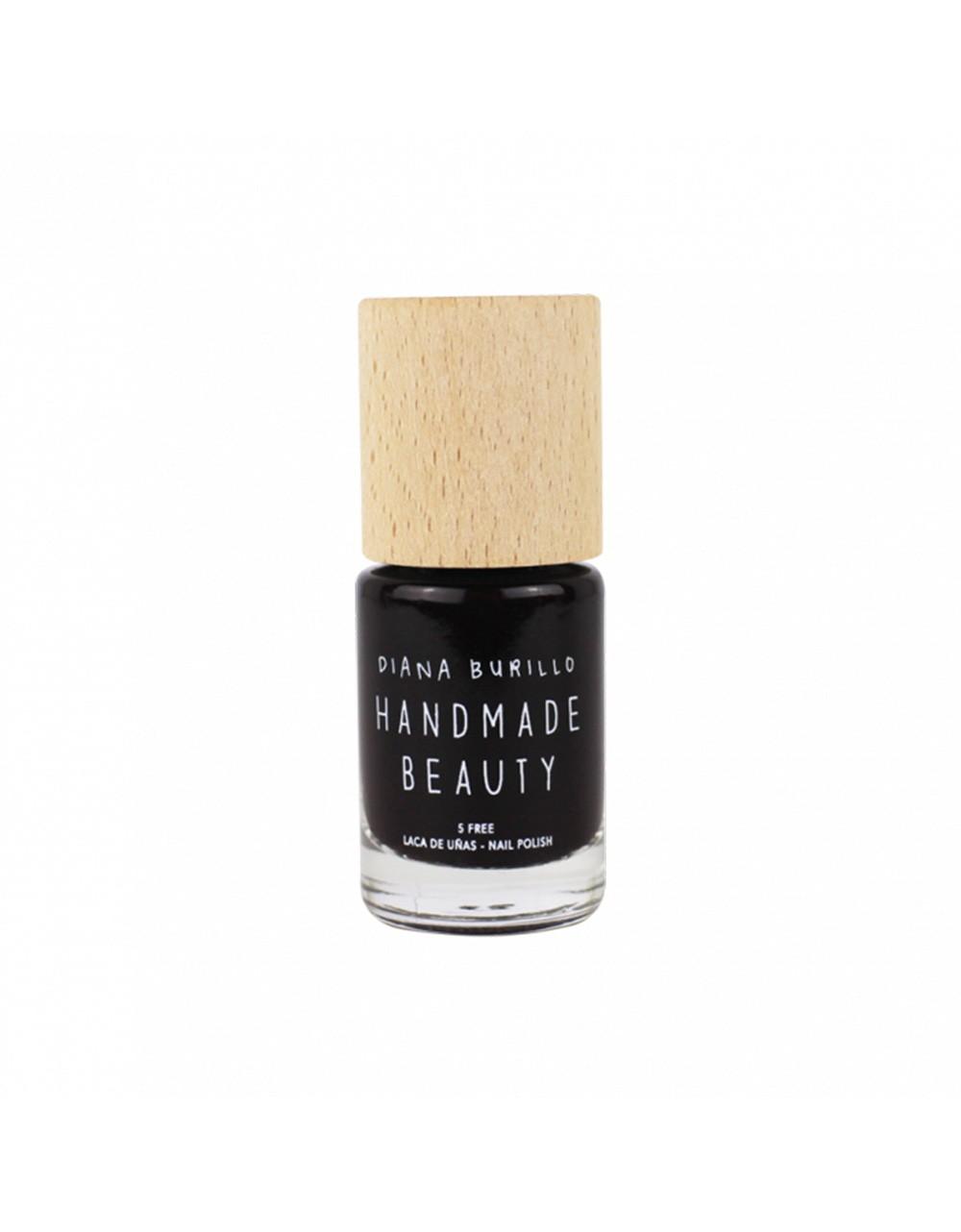 Esmalte de uñas Handmade Beauty 5 free, ecológico color burdeos, intenso como el vino Hazelnut