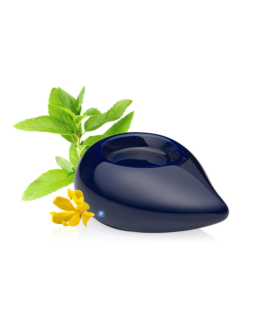 Difusor de aceites esenciales de calor moderado color azúl para aromaterapia