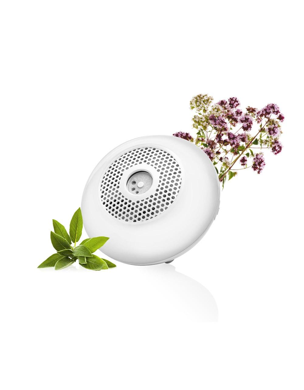 Difusor de aceites esenciales nómada USB por ventilación para aromaterapia