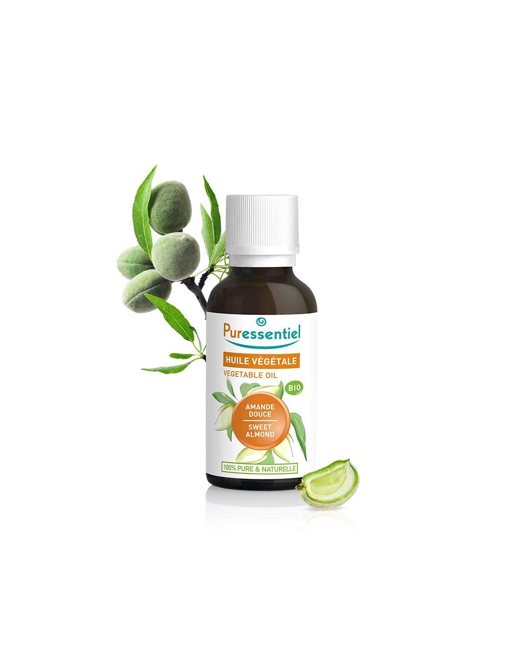 Aceite vegetal ecológico de almendras dulces