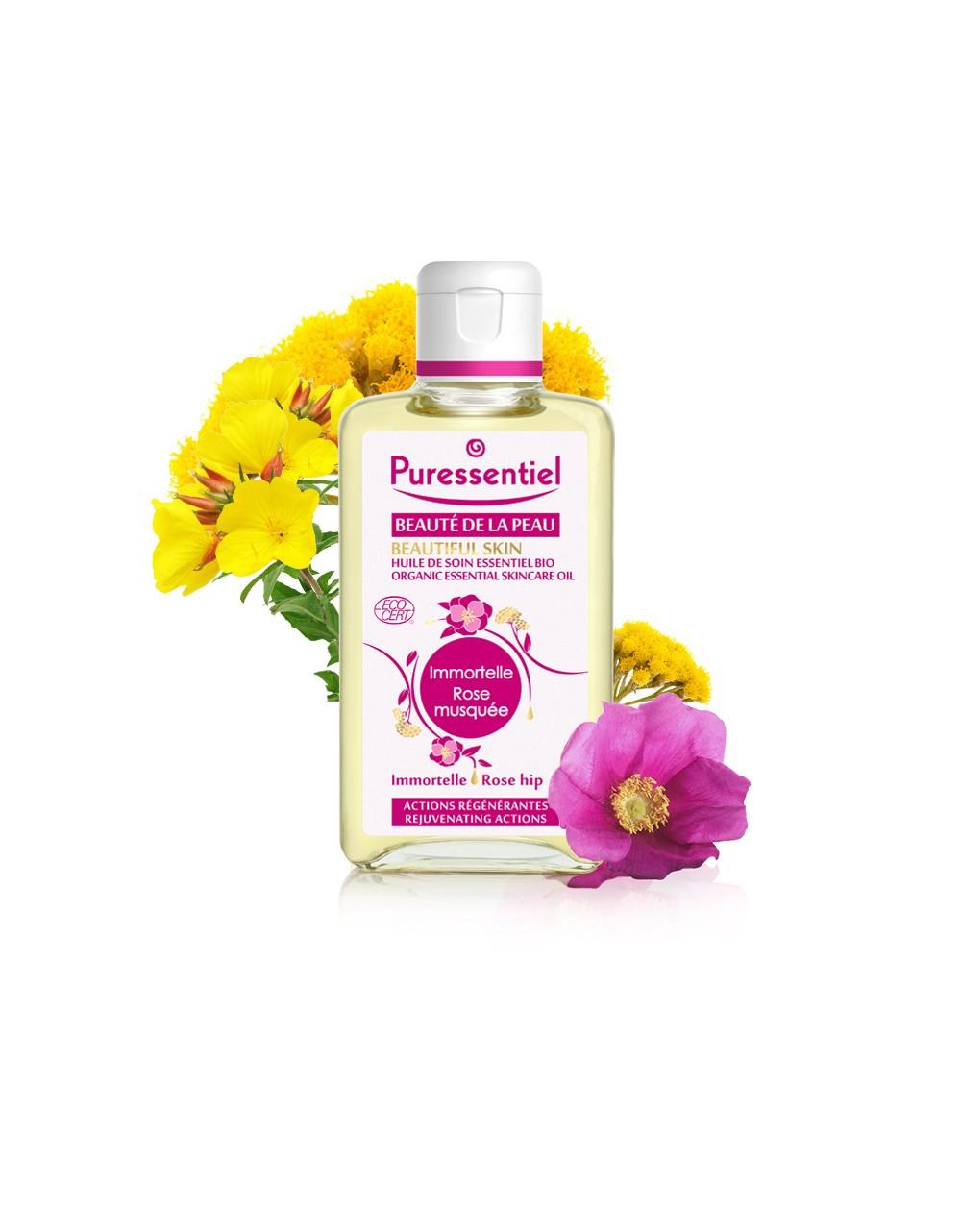 Aceite de belleza de la piel Rosa Mosqueta de Puressentiel