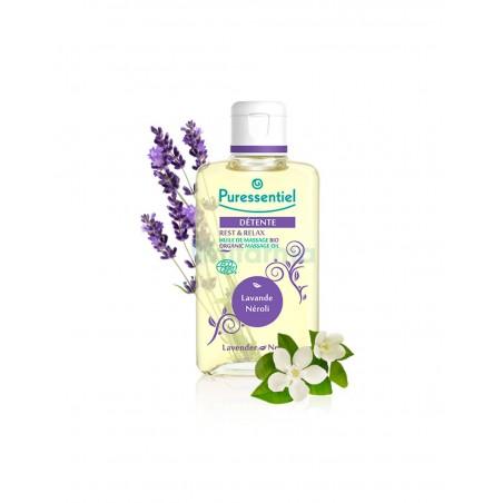 Aceite de masaje ecológico sueño relax de Puressentiel